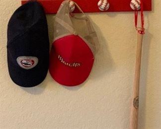Baseball Hat Rack