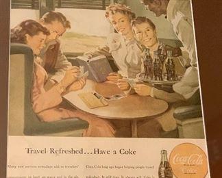 Vintage advertising prints