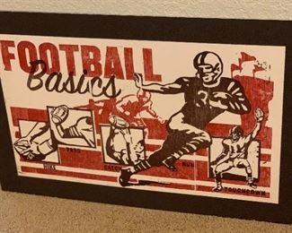 Football decor