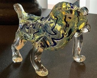 artglass bulldog