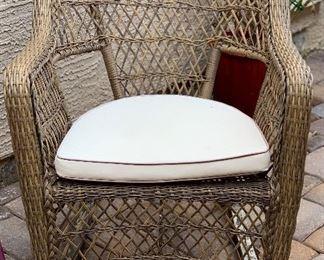 Antique Wicker Rocking Chair #1  Antique Wicker Rocking Chair #2