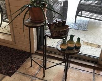 Plants and Plant stand