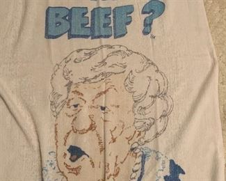 Where's the beef? --- There are 3 of these towels in varying degrees of awesomeness!