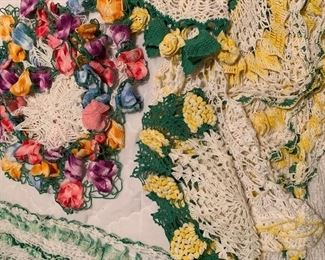 Incredible doilies made by Mary.  They are perfect & there are a lot of them!