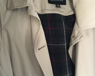 LONDON FOG lined size 12 women's coat $75