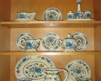 Plantation Colonial by Masons, Carl forslund Grand Rapids Michigan, many serving pieces and dinner set