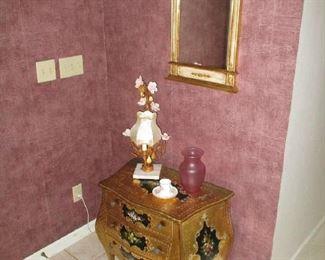 Entryway Cabinet & Mirror