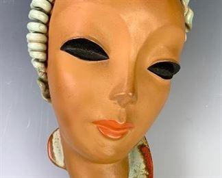 Goldscheider Austrian Art Deco Mask