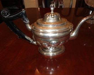 STERLING SILVER TEA POT VERY OLD!