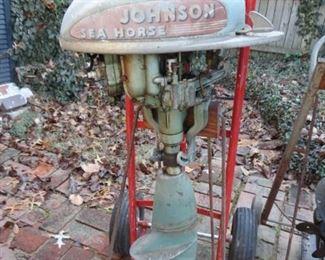 Johnson seahorse outboard boat motor