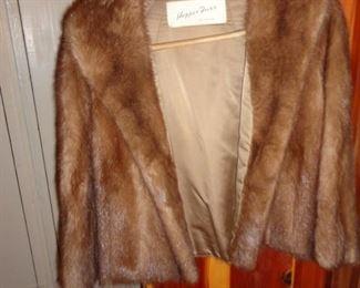 Hopper Furs Mink Coat