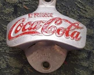 Coke bottle opener