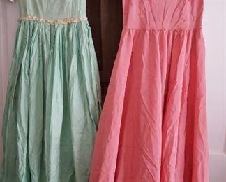 Vintage evening dresses