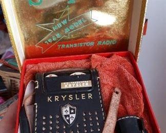 Krysler SIX radio