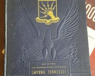 WW2 book Army Air Force Pilot Transition School
