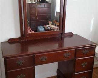 Dresser with bench