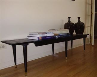 Midcentury expandable bench