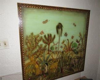 Original painting on board