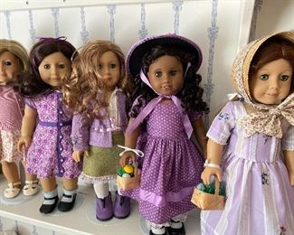 All American girl dolls are available for pre-sale and shipping. Please email or call with your doll requests. Prices are $85 including shipping or $75 for pickup.