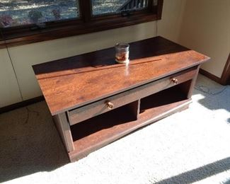 pair of these TV stands, coffee table?, whatever