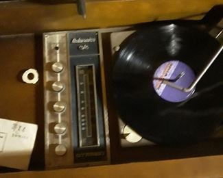 MCM record player and works.