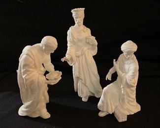 "Lenox ""The Renaissance Nativity Collection"", ""The Three Kings"""