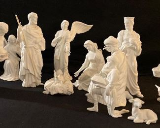 "Lenox ""The Renaissance Nativity Collection"", ""The Holy Family"", ""The Three Kings"", ""The Angels in Adoration"", ""The Children of Bethlehem"""