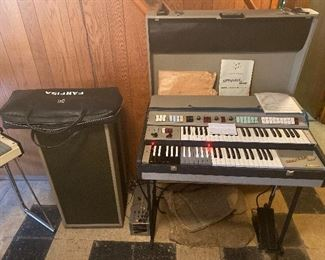 Farfisa Compact Duo Portable Electric Organ