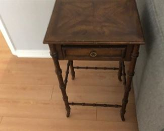 Small end table with drawer.