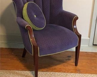 Lot 008 Vintage 'Revived' Wingback Chair