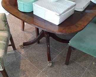 Dining Table made of Council Furniture