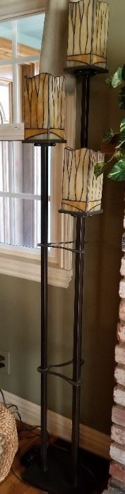 Cute stained glass floor lamp