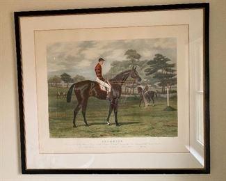 Equestrian Framed Art