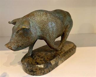 Maitland Smith Boar Decor