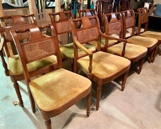 Stickley Dining Chairs - These Match the Stickley Table