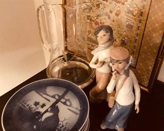 From Lladro to Asian needlework and beautiful plates from Denmark, there is a wealth of goods for sale at great prices