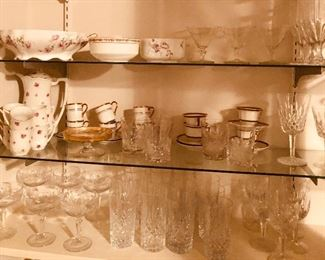 Check out the built in china cupboard. Loads of crystal. Name brand. Antique and more.