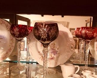 Beautiful stemware in gorgeous colors