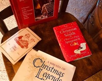Great books on Christmas and an old Holiday menu from Alaska