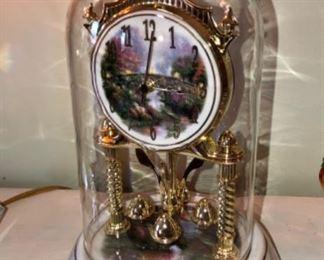 Thomas Kincade anniversary clock.