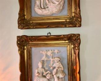 Wedgwood china plaques