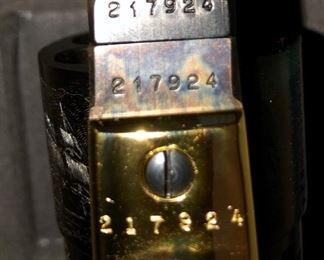 Serial number Black powder colt pistols