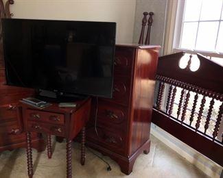 KY cherry handmade bedroom furniture