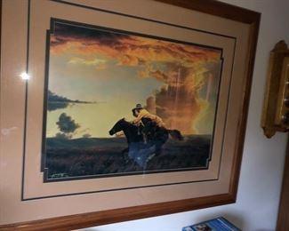 Pony express print