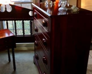 KY handmade CHERRY 4 drawer CHEST