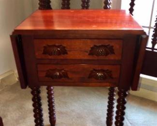 Handmade KY CHERRY DROP LEAF TABLE