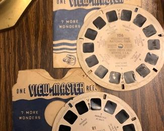 View master disc.  One of Yellowstone the other of Niagara Falls