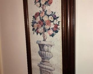 an example of the wall art in the home.