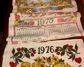 collection of calendars