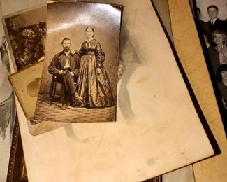 collection of old photographs from family.   There is a lot of genealogy records for the Flax and Baker family's in Ohio.